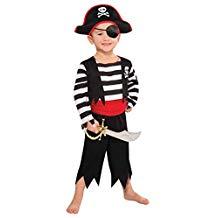 disfraz de pirata de niño