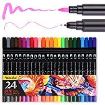 marcadores para dibujar