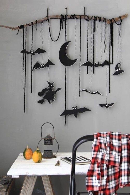 colgantes para decorar en halloween