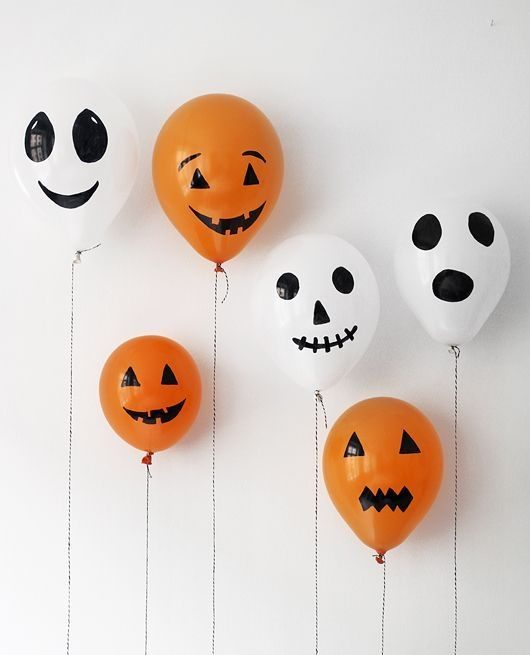 globo para decorar en halloween