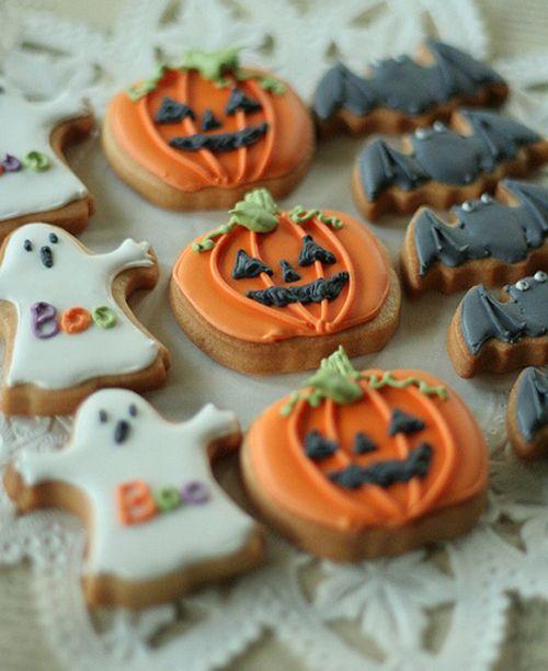 galletas simples para halloween