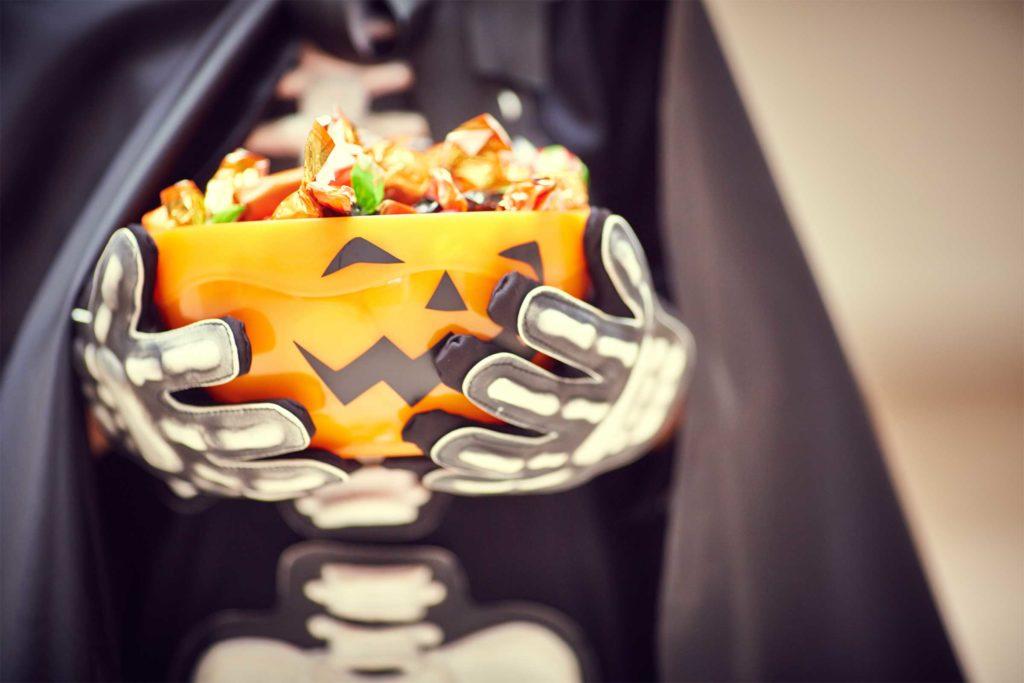 dulce o truco de halloween