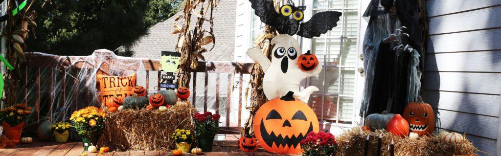 decoracion completa de halloween