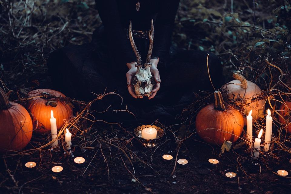 ritual de halloween y origen