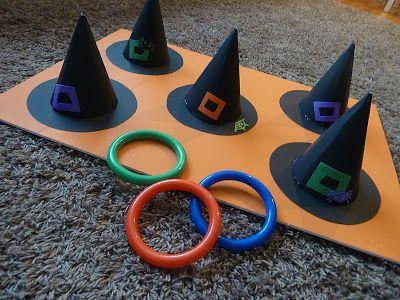 sombreros de brujas y aros