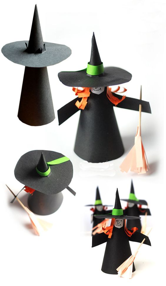 brujitas de halloween para decorar