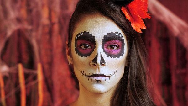 maquillaje del día de los muertos