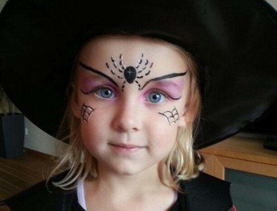 maquillaje coqueto para niña
