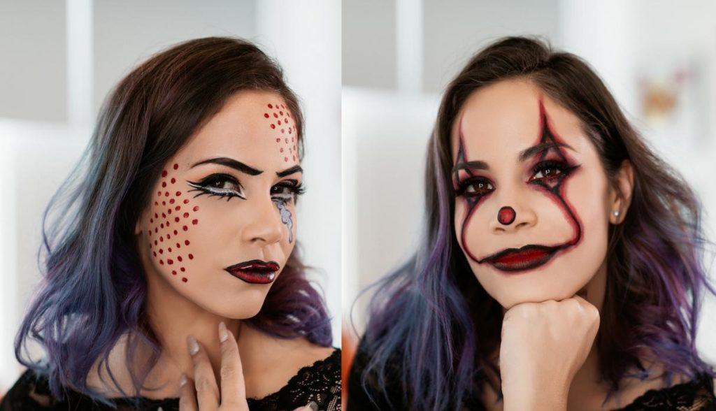 maquillajes ideas de halloween