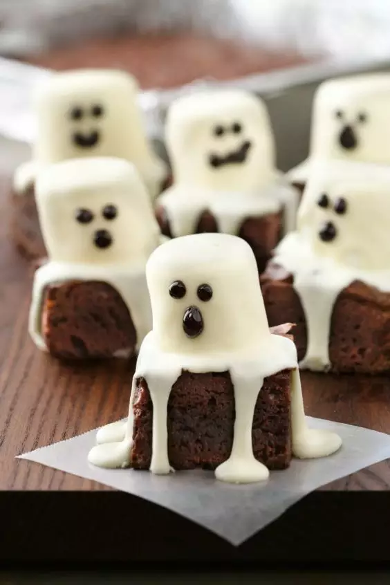 brownies fantasmas