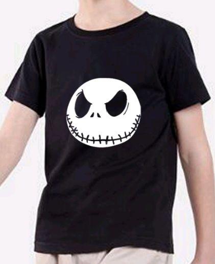 camiseta de halloween de niño
