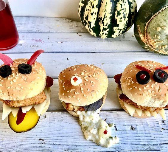 hamburguesas monstruos