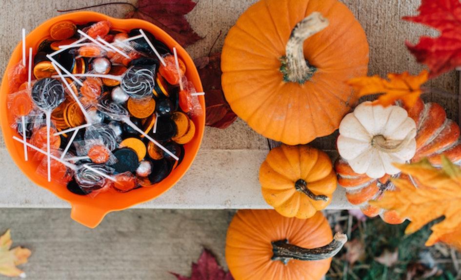 chupeties y golosinas de halloween