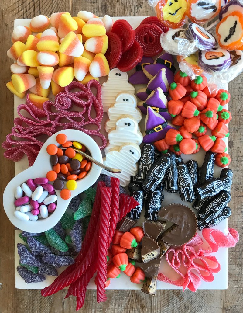 decoracion de golosinas de halloween