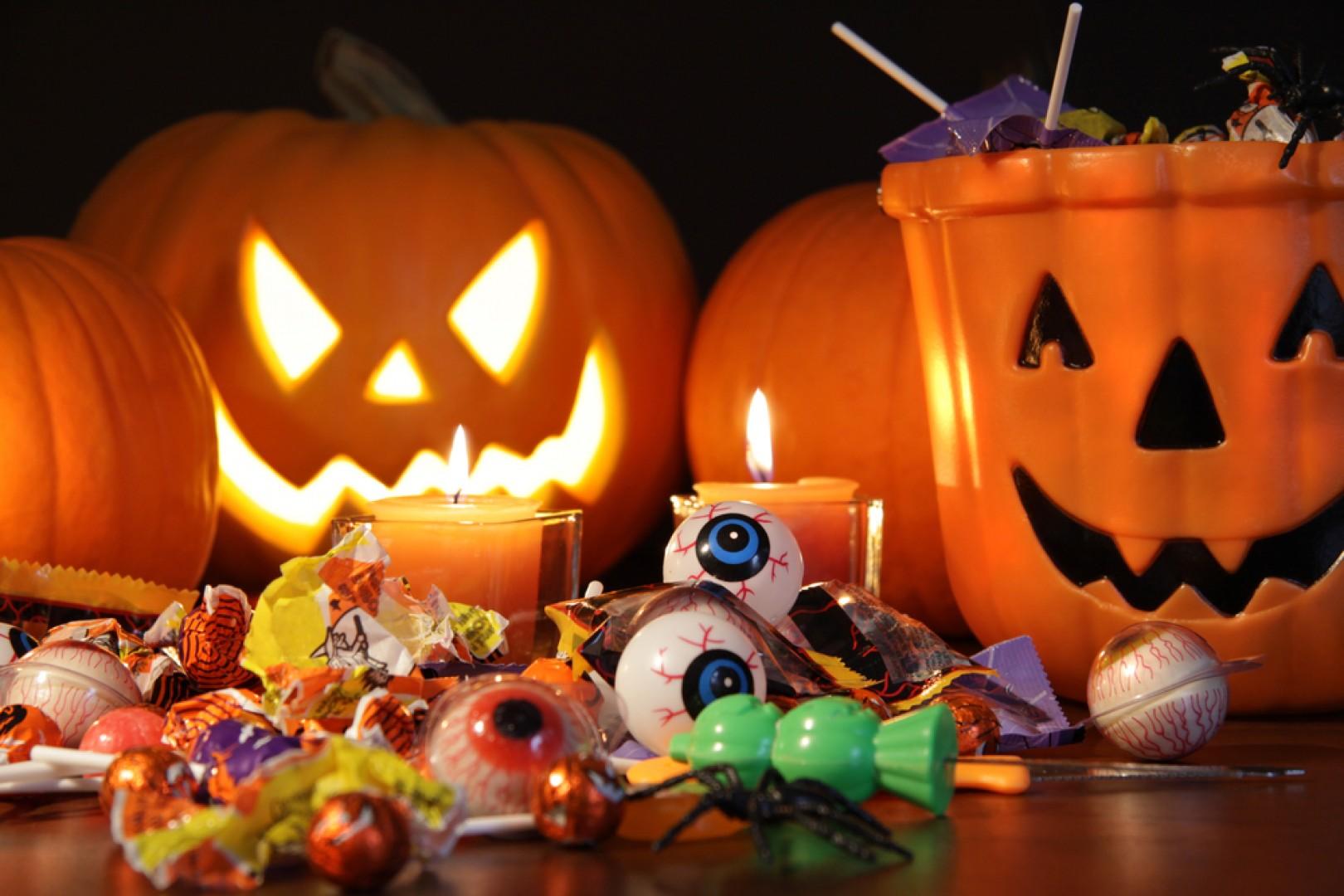 imagen de golosinas de halloween