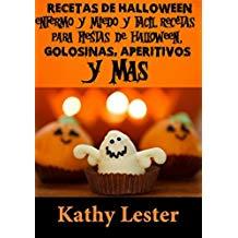 libro de receta halloween