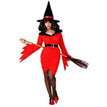 comprar disfraz de bruja rojo