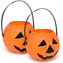 cestas de calabazas de halloween