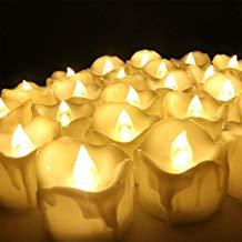 velas sin fuego para decorar