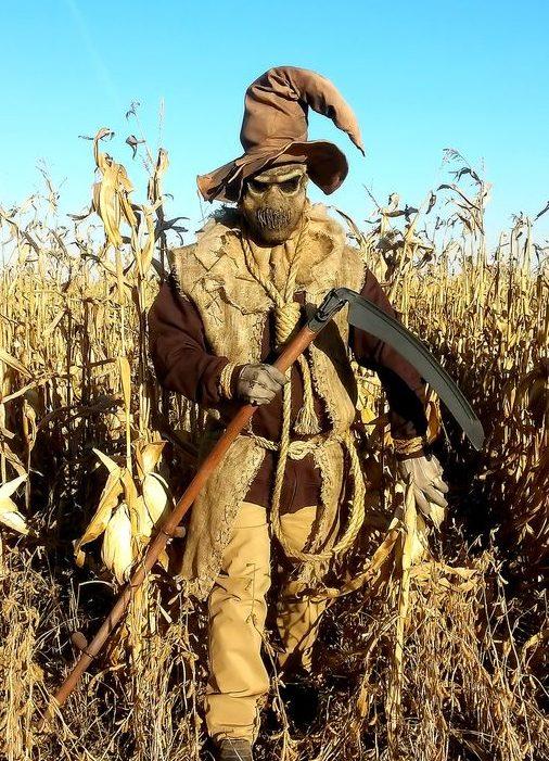 espantapájaros de halloween disfraz