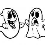 dibujos de fantasmas de halloween