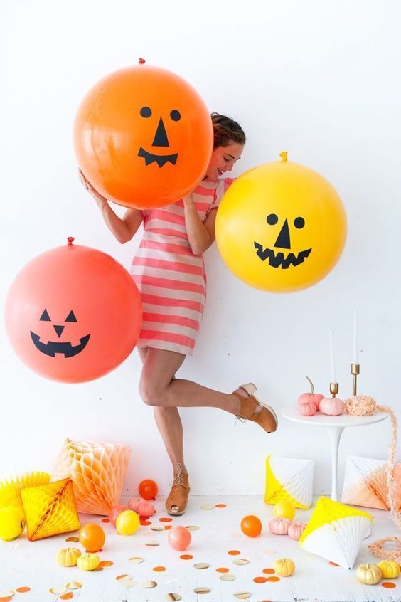 globos de halloween grandes