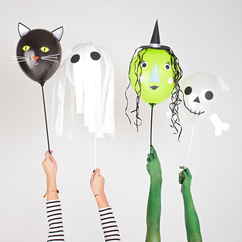 diversos globos de halloween