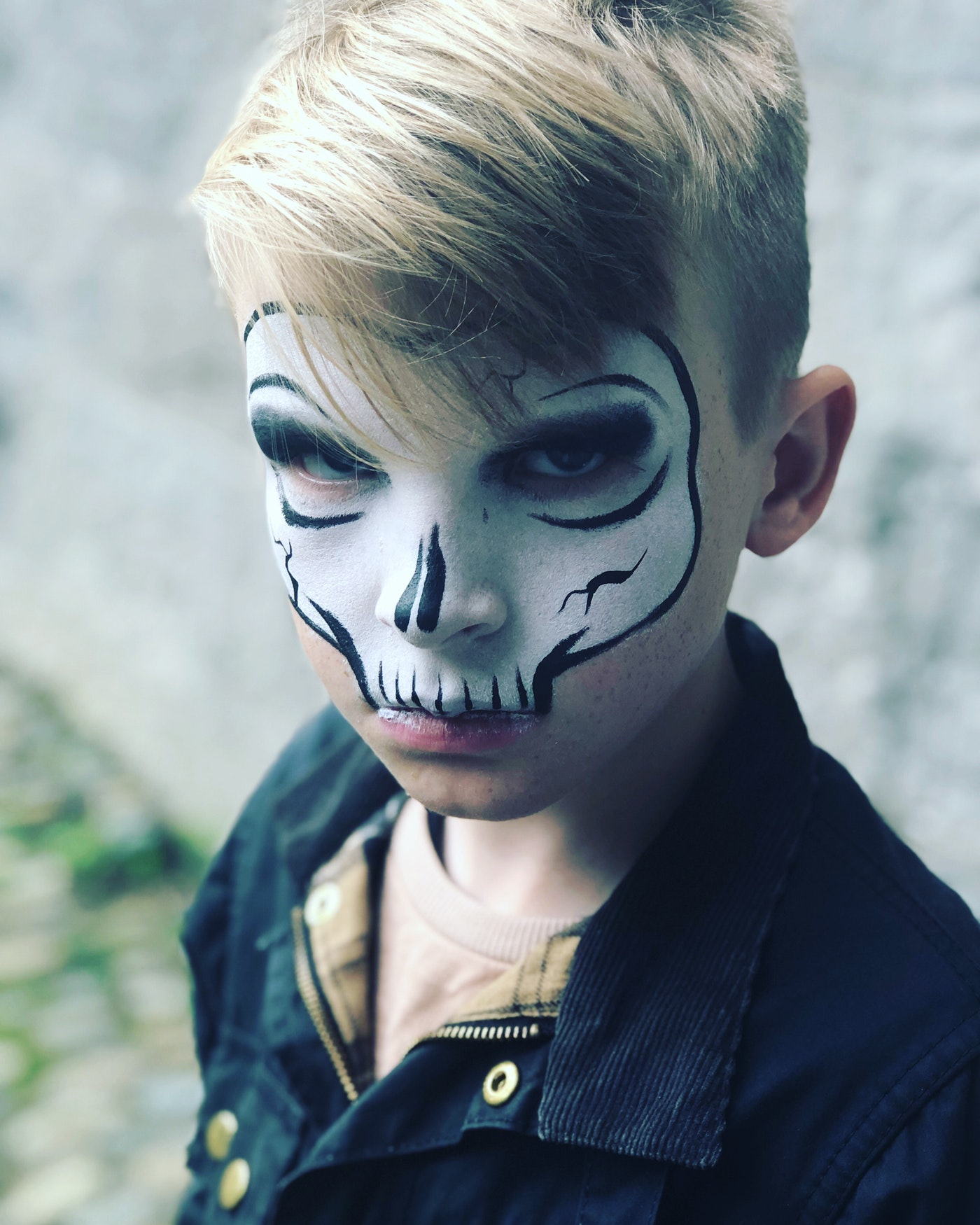 niño disfrazados en halloween