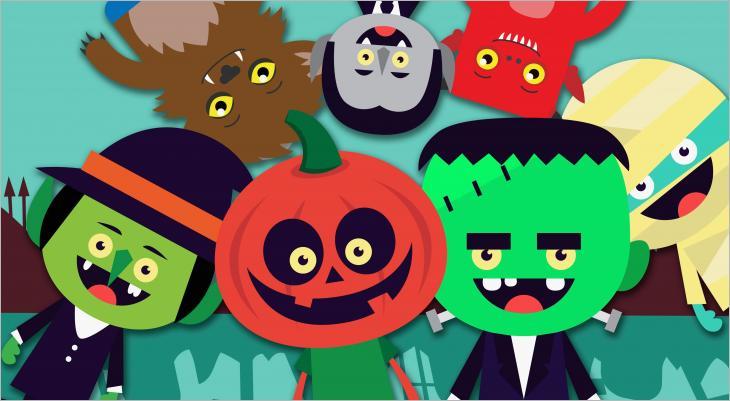 historia de halloween infantil