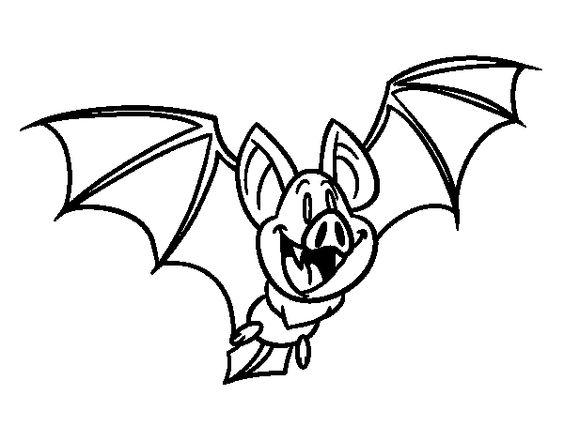 caricatura de murcielago