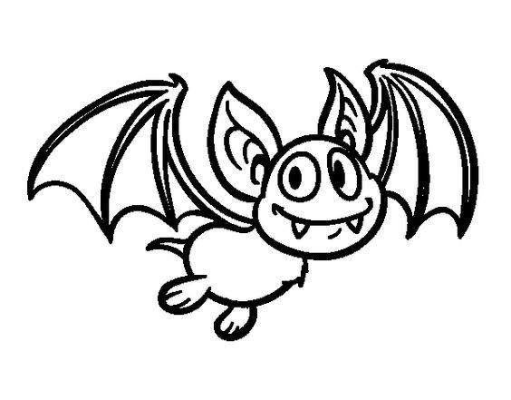 dibujo de un murcielago