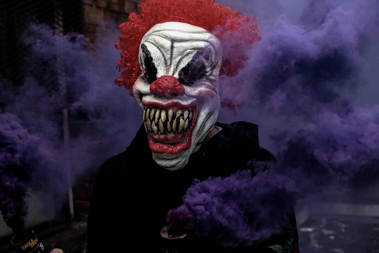 imagen de un payaso de halloween