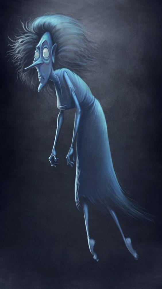 fantasma como personaje de halloween