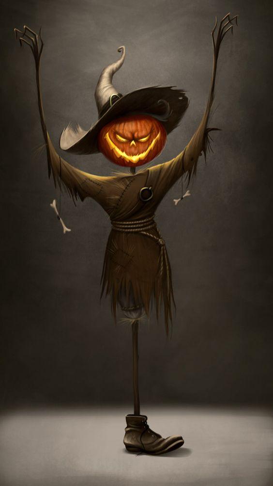 personaje de halloween jack linterna