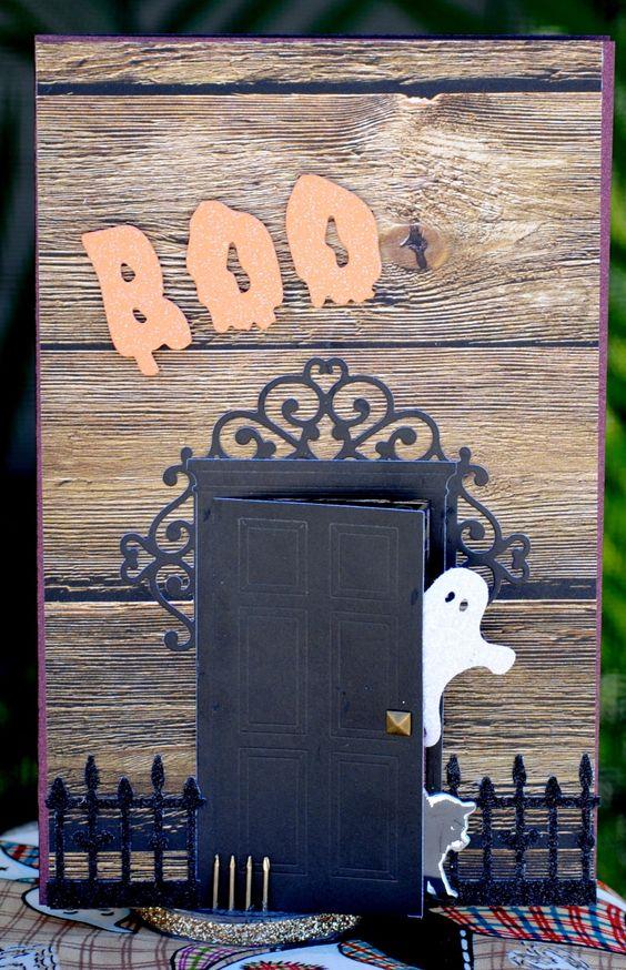 tarjeta de halloween presentacion
