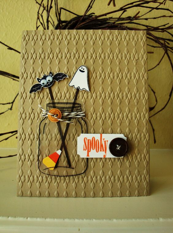 tarjeta de halloween regalo