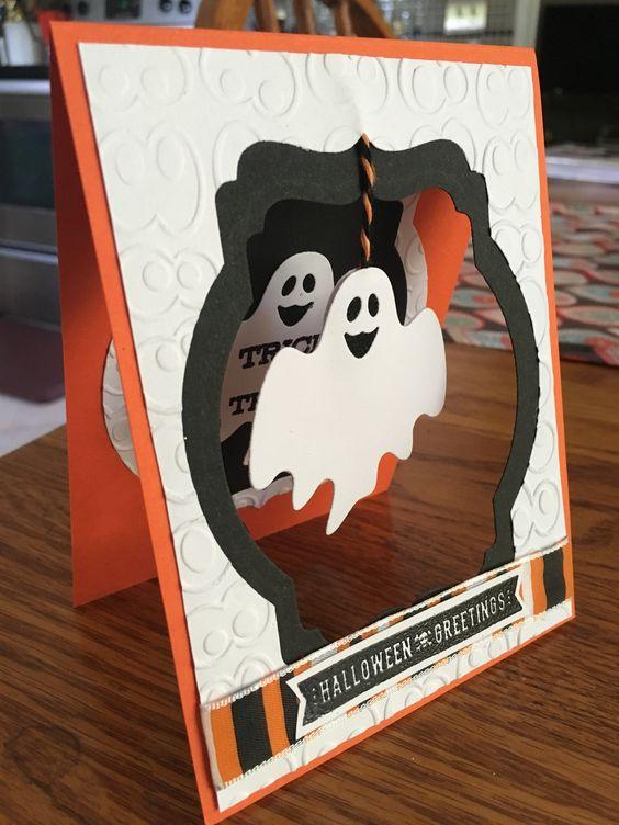 tarjeta de halloween original