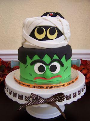 tarta decorada con fondant